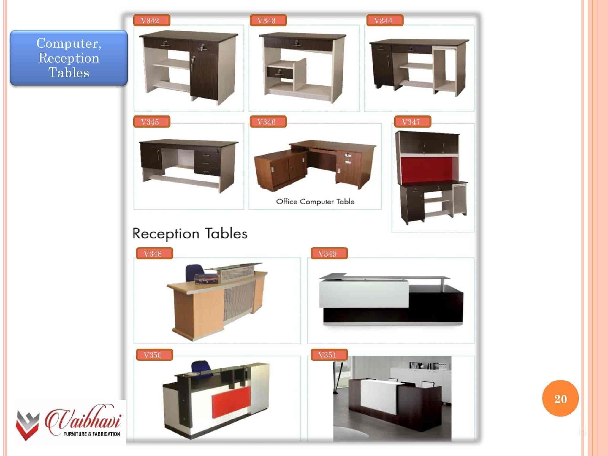 Vaibhavi Furniture & Fabrication Narol Furniture Manufacturers