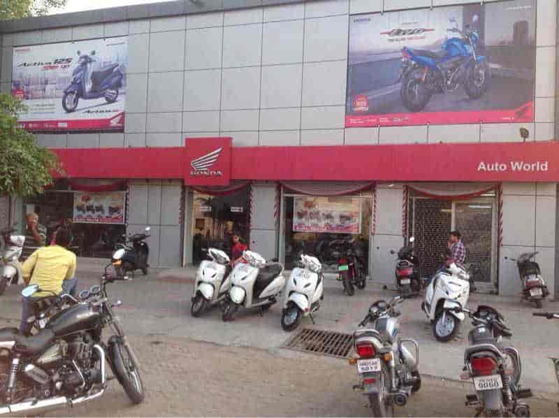 Honda Two Wheeler Showroom Photos Ambala Cantt Motorcycle Dealers