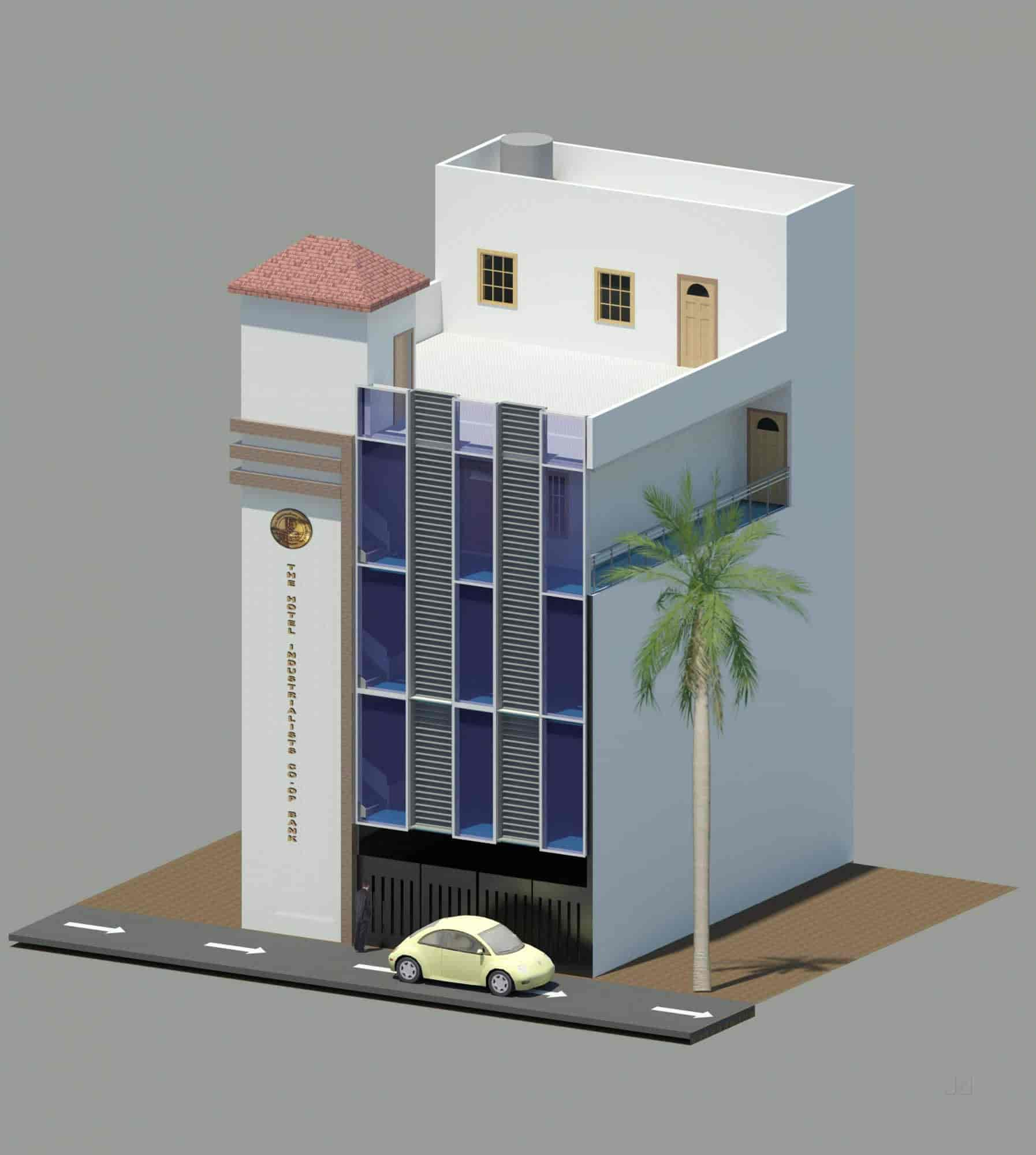 ... Architectural Design 3D View   Si Architectural Designers Photos,  Rajajinagar, Bangalore   Architects ...