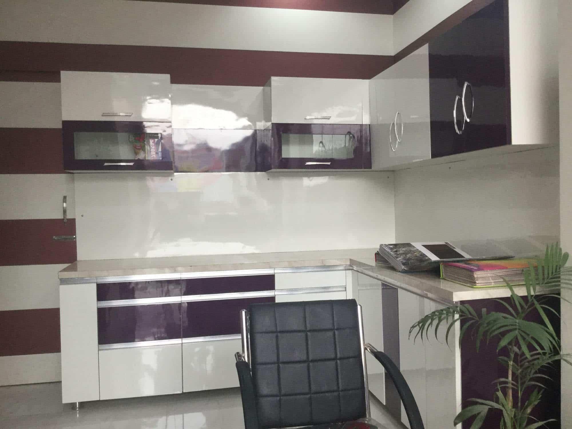 Hi-tech Interior Modular Kitchen Photos, Izzat Nagar, Bareilly ...