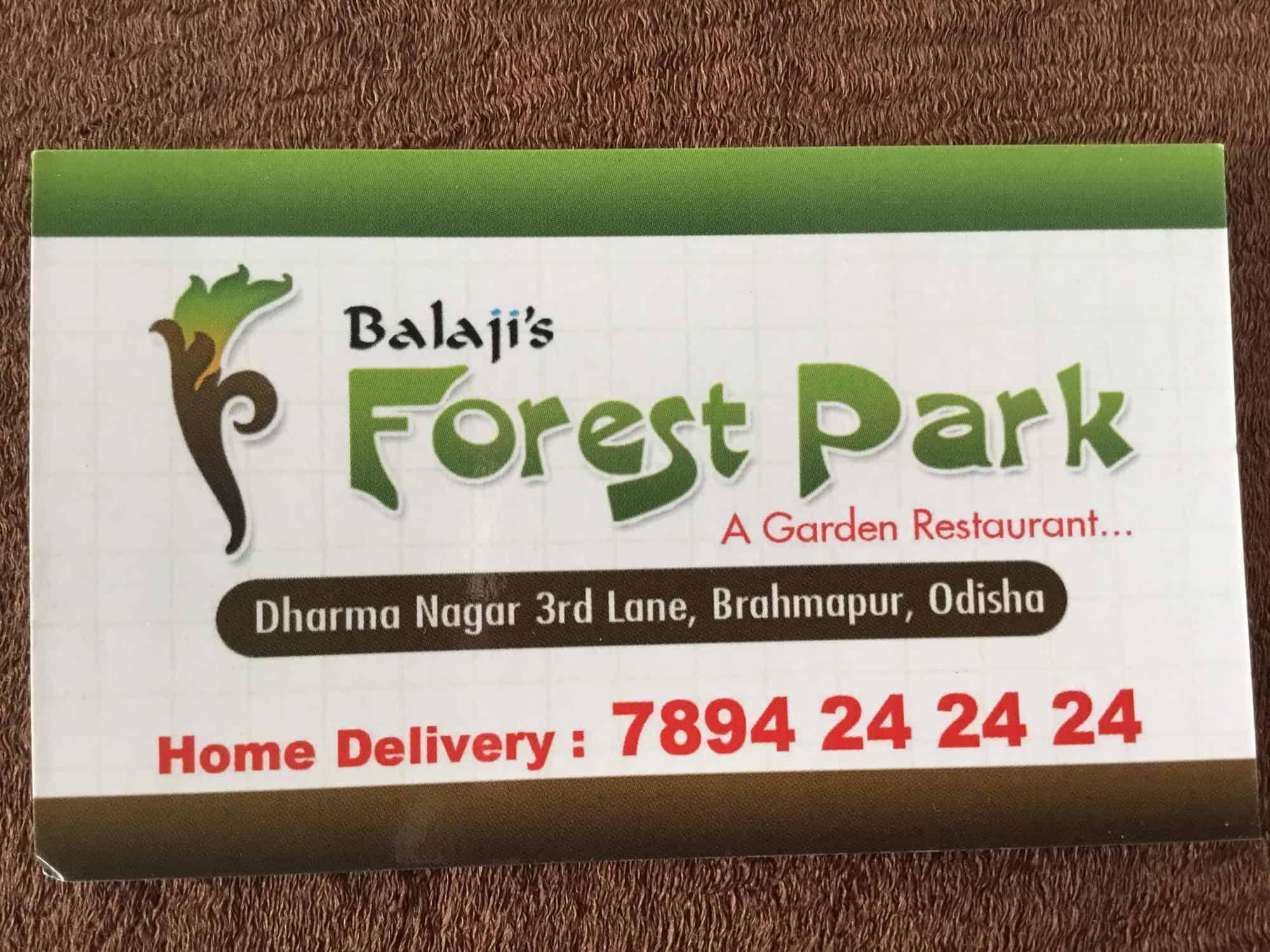 Forest Park Puruna Berhampur Berhampur Orrisa Restaurants Justdial