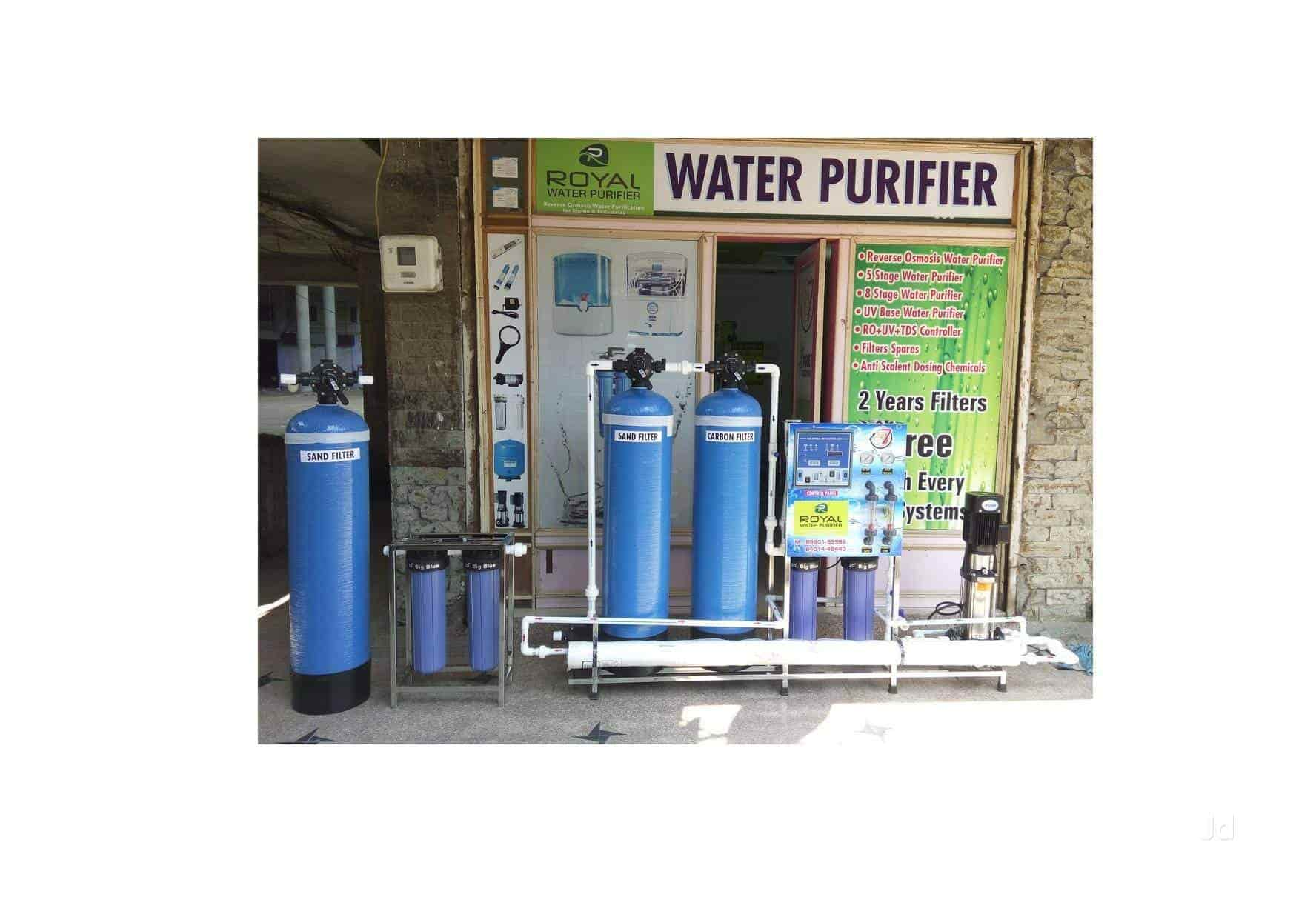 Royal Water Purifiers Ro Water Treatment Plant Manufacturers in