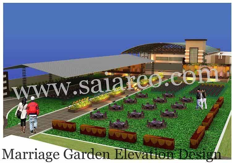 ... Marriage Garden Elevation Design   Sainath Space Management Consultant  Photos, , Bhilwara   Interior Designers ...