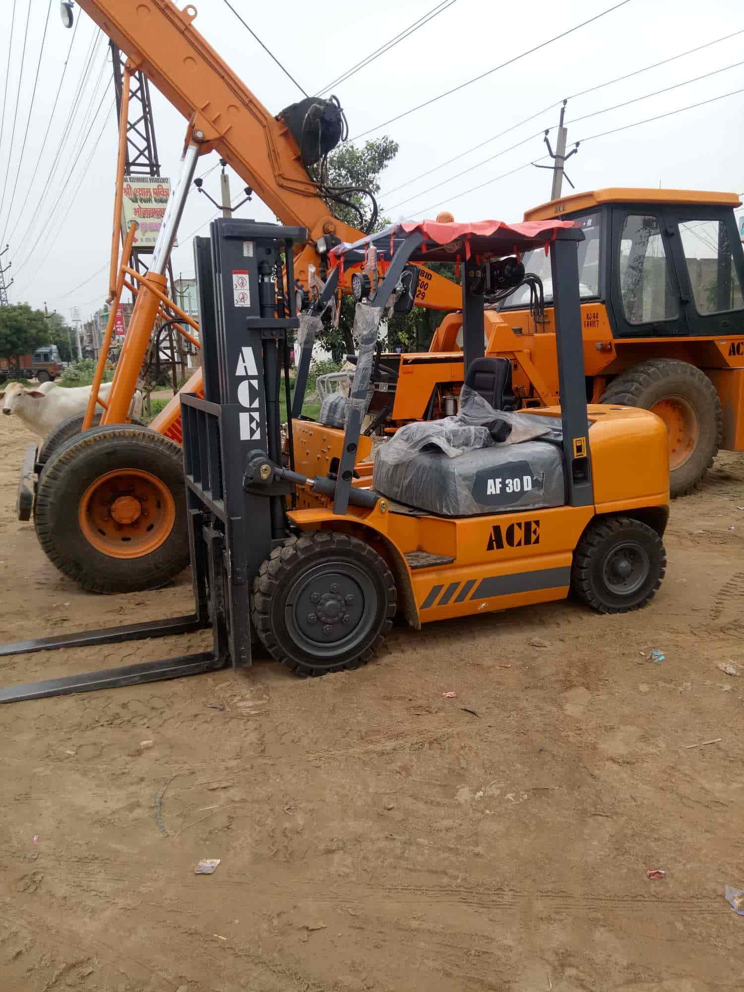 Crane on Hire - Khurshid Crane Service Photos, Chopanki, Bhiwadi - Cranes On Hire ...