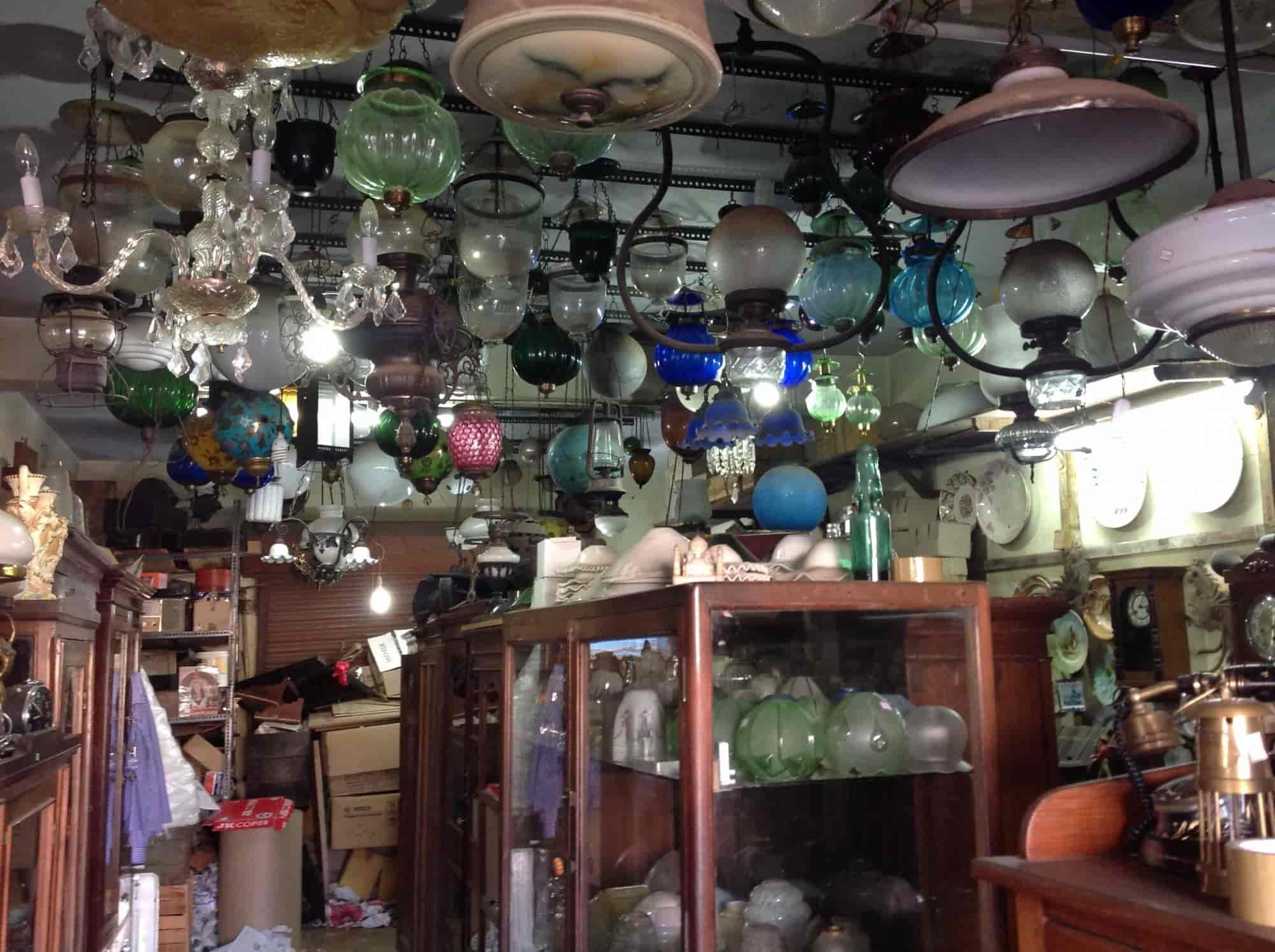 Tiffanys Antiques Now As Jamal\'s Corner Shop, Pudupet - Lamp ...