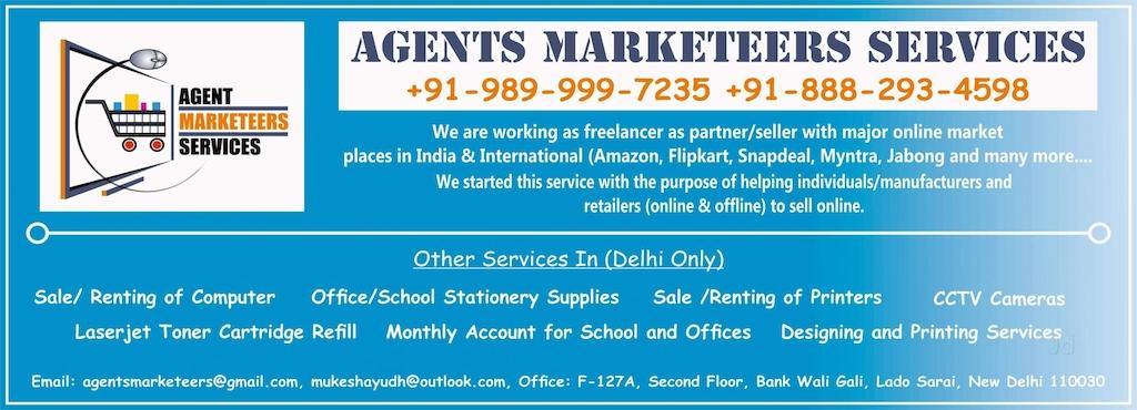 Agents marketeers services lado sarai mehrauli printers for agents marketeers services reheart Gallery