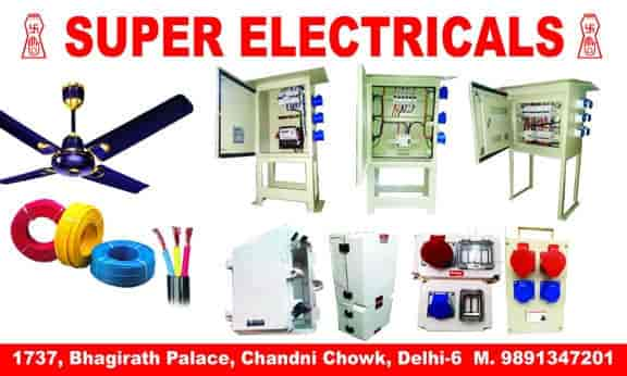 super electricals bhagirath palace mcb distribution board rh justdial com electronics projects electricals