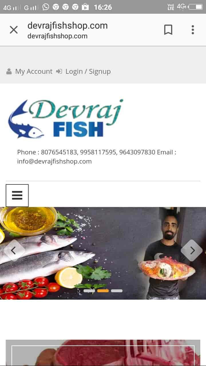 Devraj Fish Shop Photos, Chittaranjan Park, Delhi- Pictures & Images