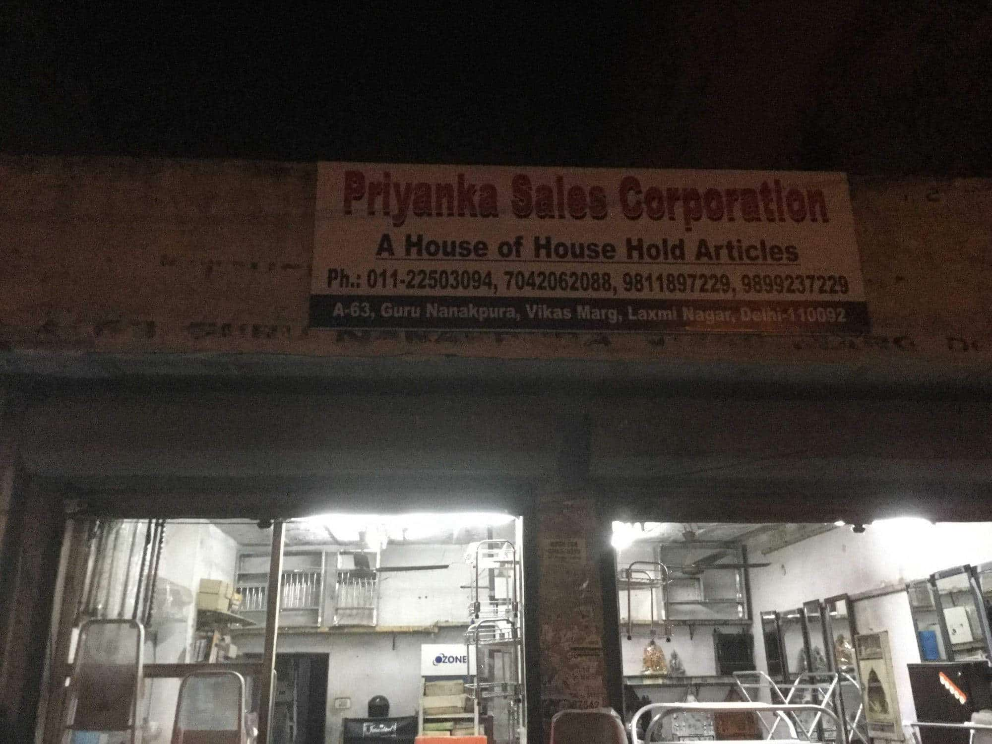 Priyanka Sales Laxmi Nagar Commercial Kitchen Equipment Dealers
