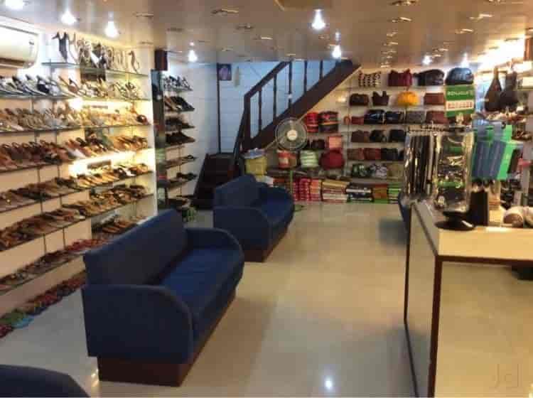 Inside View Of Footwear Shop