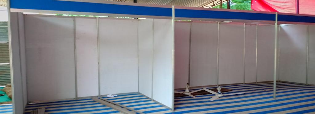 Exhibition Stall Installation : Ttd exhibition stall ranebennur exhibition stall installation