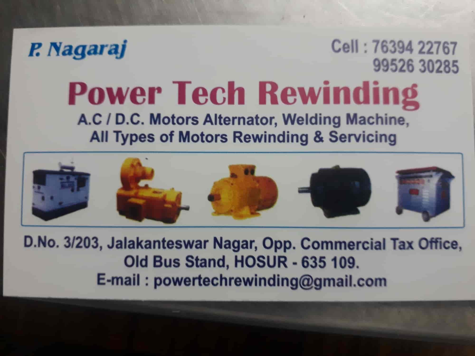 Power Tech Rewinding - Welding Machine Repair & Services in Hosur ...