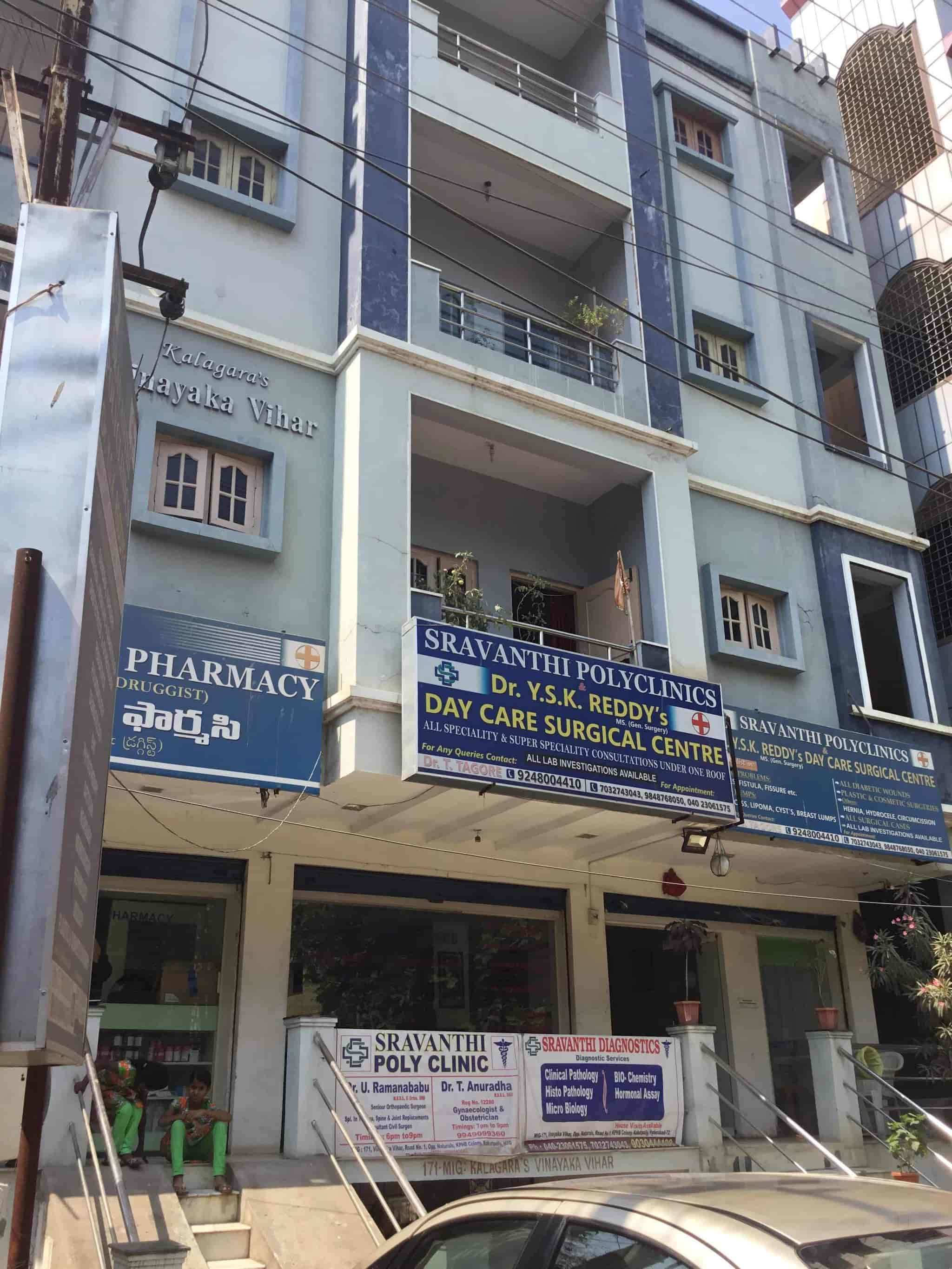 ... Front View   Sravanthi Polyclinics Photos, KPHB Colony, Hyderabad    Piles Doctors ...