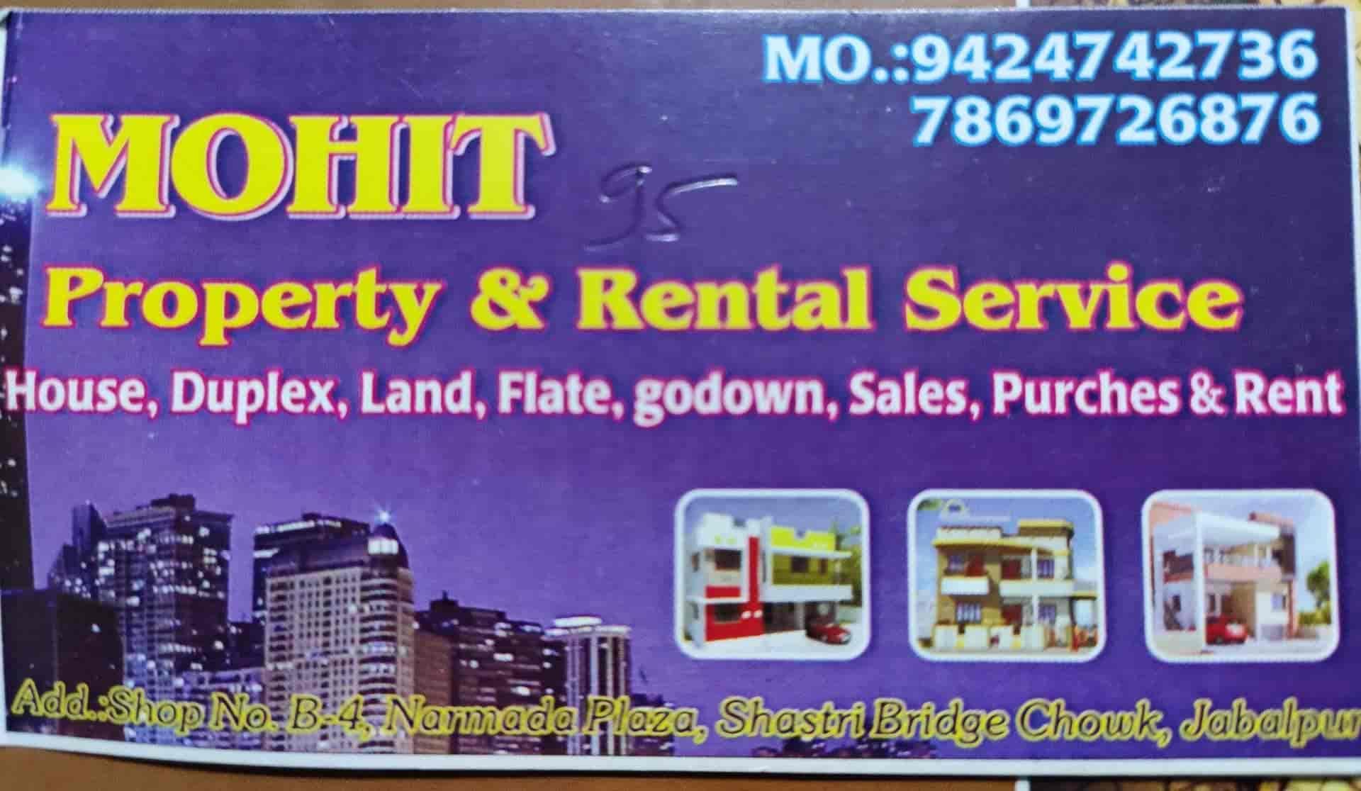 Mohit property & Rental service, Napier Town Jabalpur