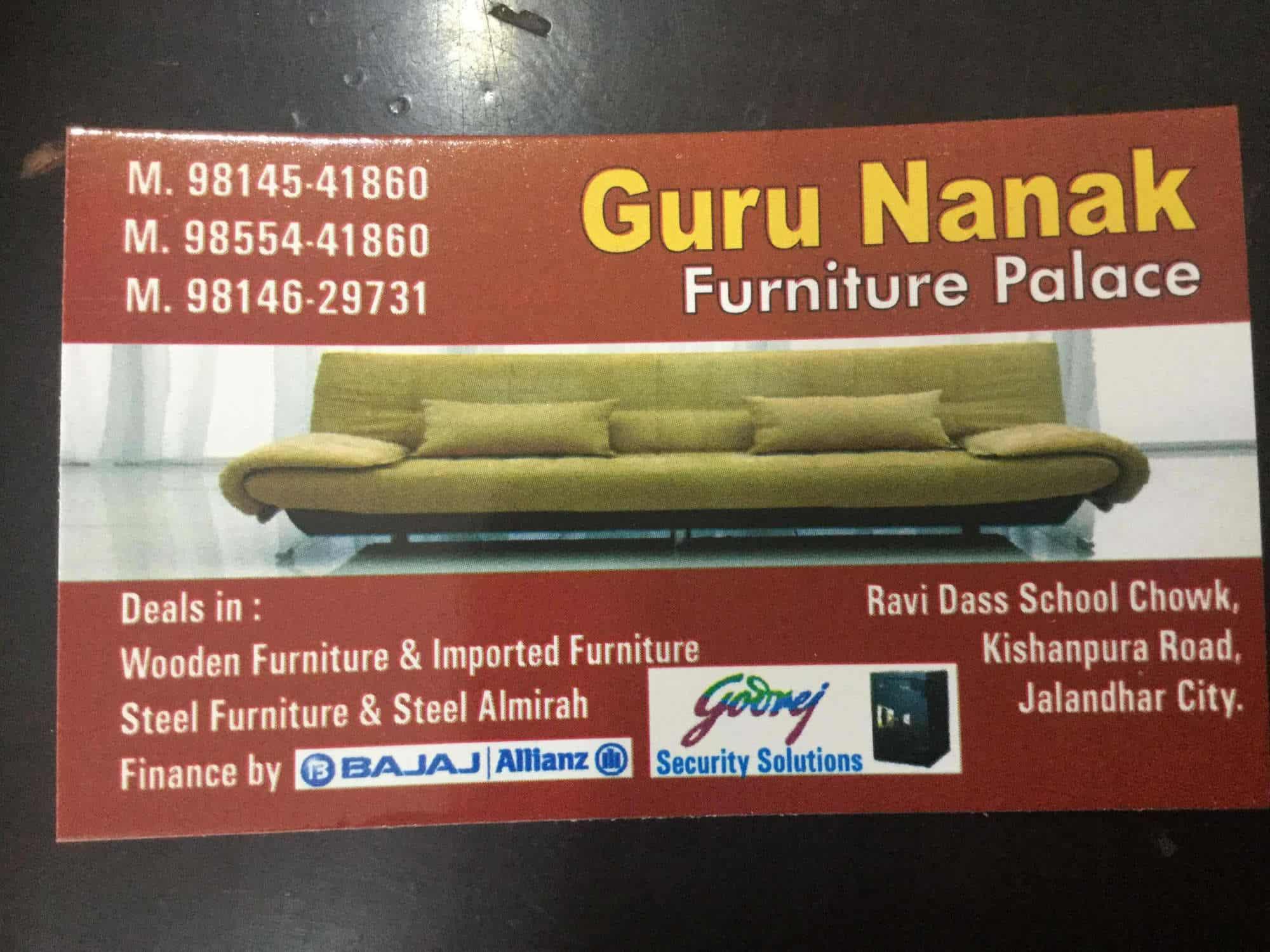 Guru Nanak Furniture Palace Jalandhar City Carpenters in