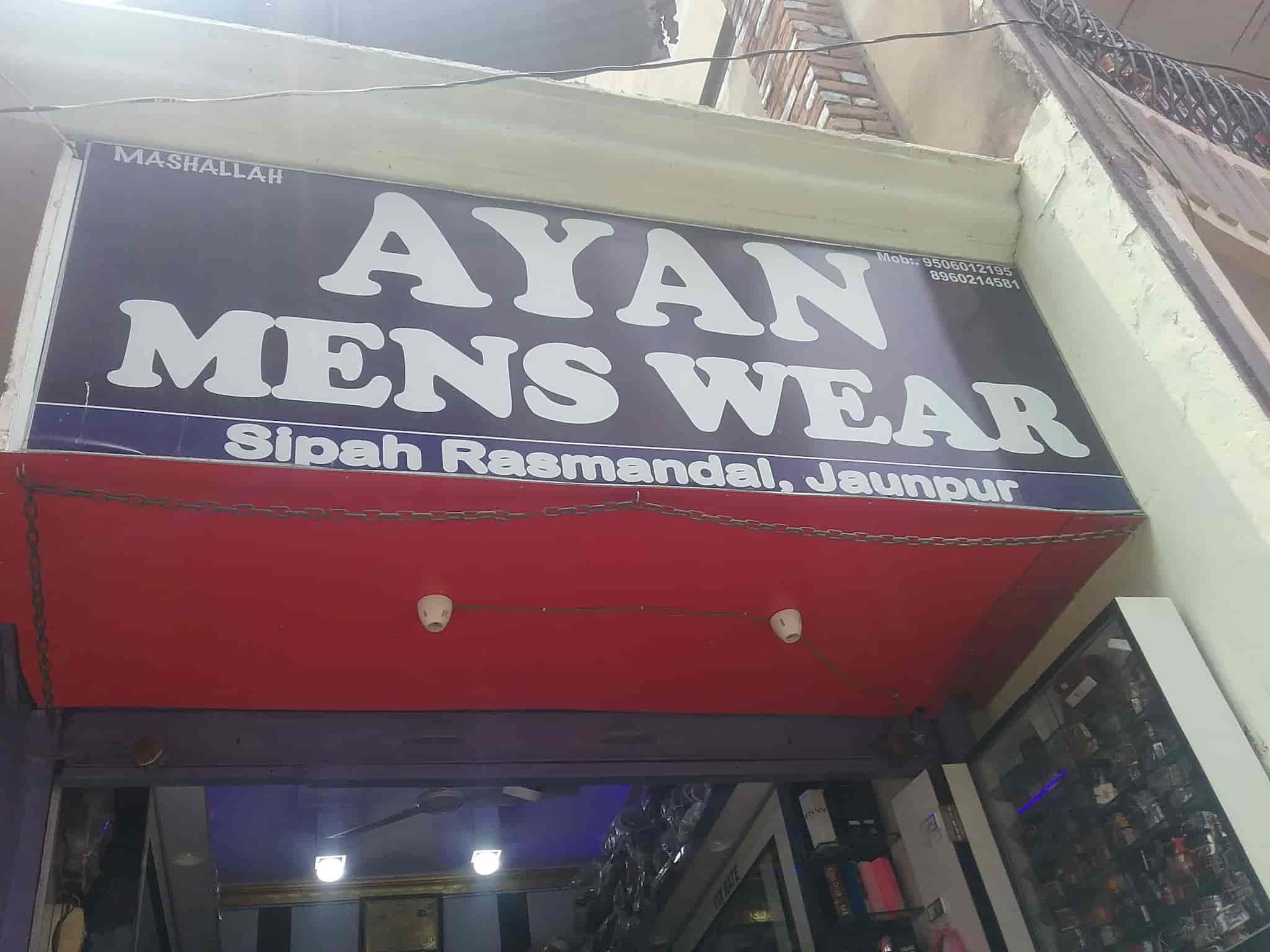 Ayan Men's Wear & Shoe Centre, Near Ram Takij Gali Sipah