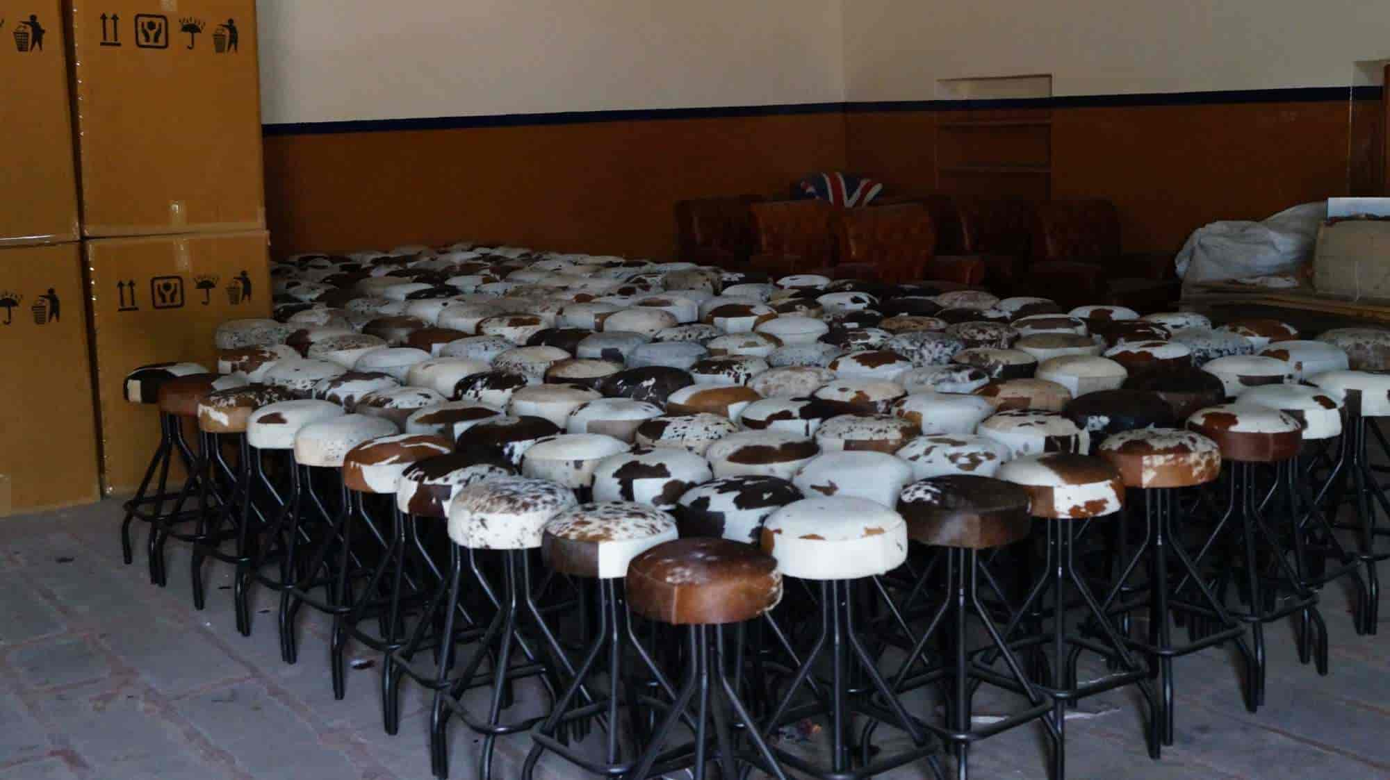 Khivraj Handicrafts Soorsagar Leather Furniture Manufacturers In