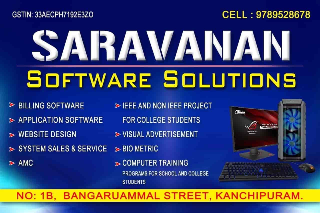 Saravana Software Solutions Photos Kanchipuram Pictures Images