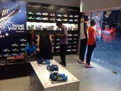 ... Inside View of Showroom - Adidas Performance Exclusive Home Court Store  Photos, Salt Lake City ...
