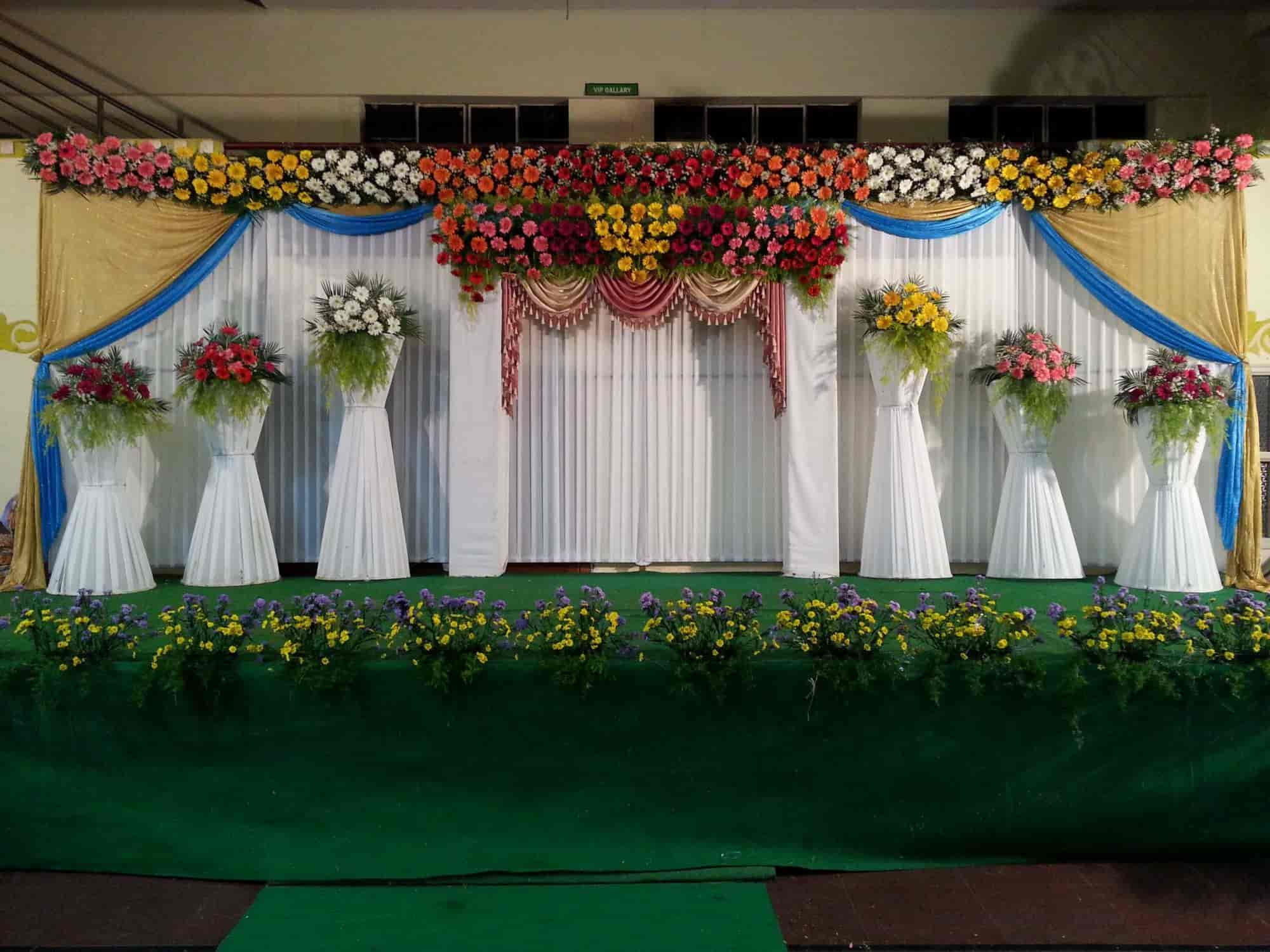 Sri Lakshmi Vinayaka Flower Decoration   Sri Lakshmi Vinayak Flower  Decoration   Decorators In Madanapalle   Justdial