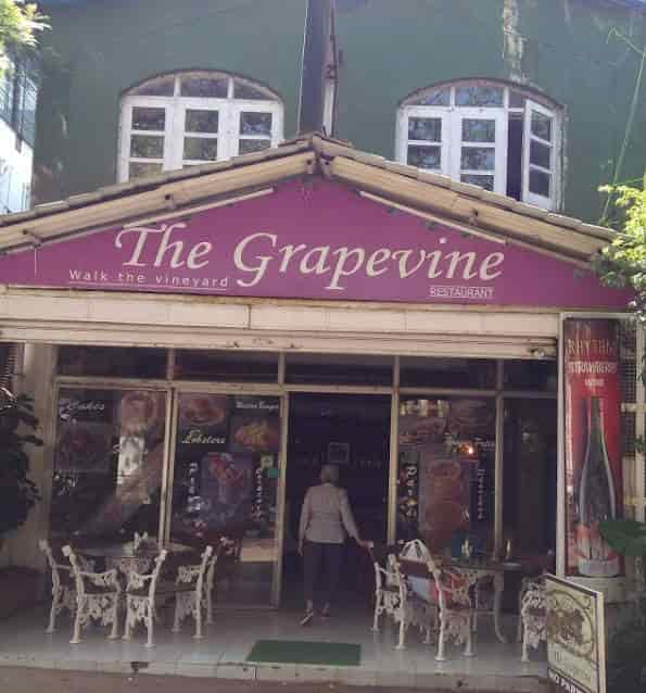 Grapevine Restaurant Mumbai Continental Sea Food Parsi Indian