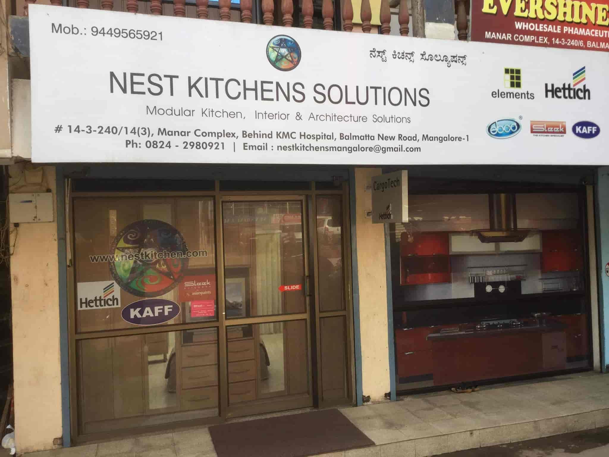 Nest Kitchens Solutions, Balmatta - Modular Kitchen Dealers in ...
