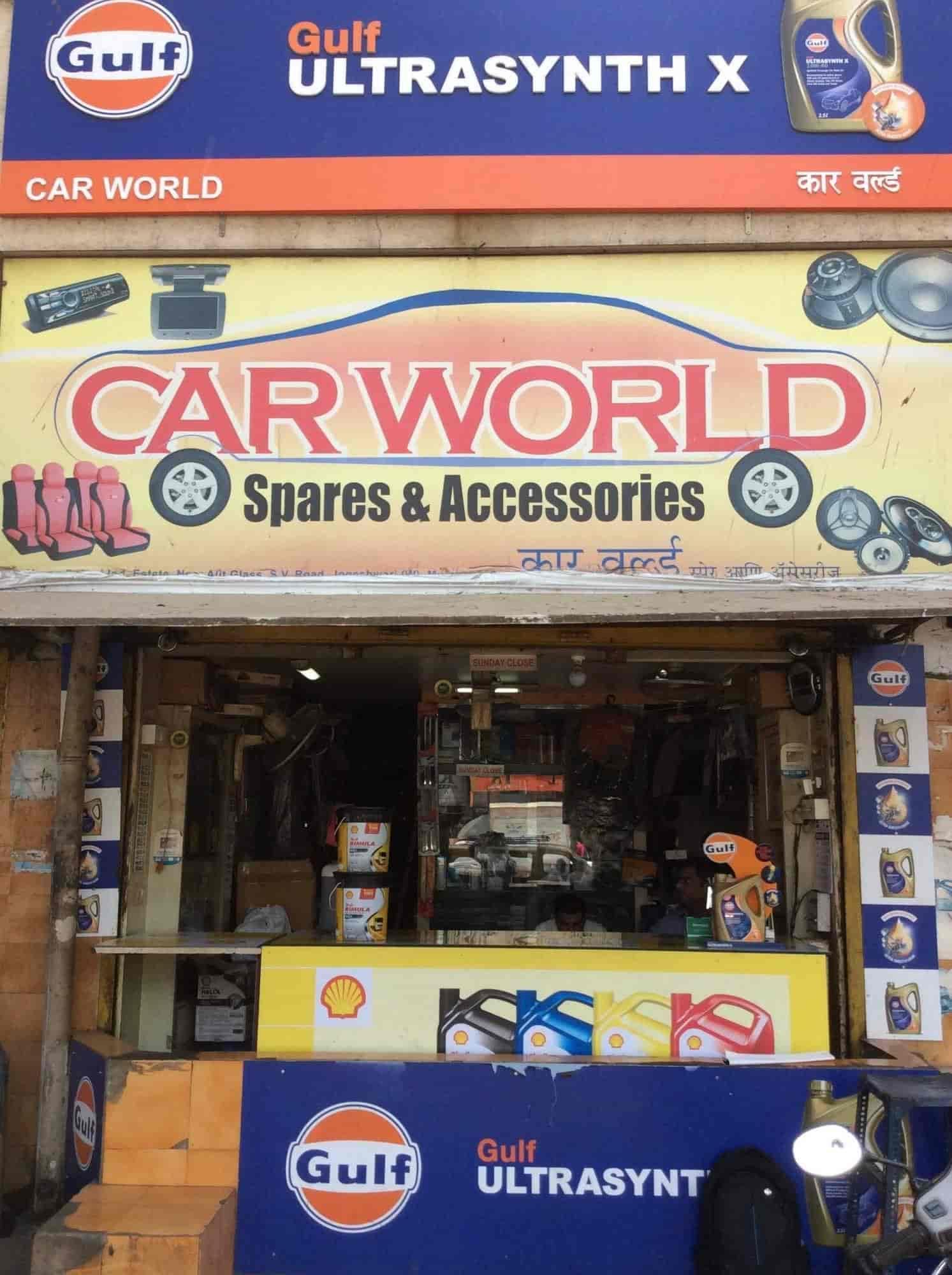 Car World Spares & Accessories, Jogeshwari West - Car Part Dealers ...