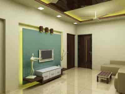 ... Living Room Interior   Pritesh Joshi U0026 Associates Photos, Kandivali  West, Mumbai   Interior ...