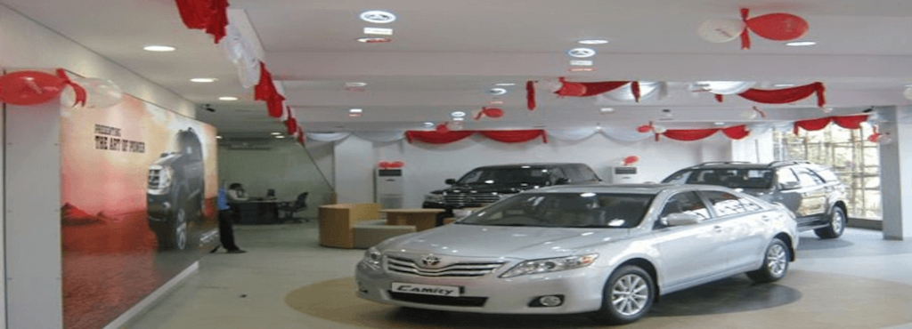 Millennium Toyota Showroom Work