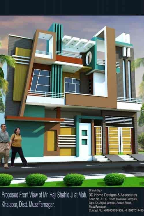 3d Home Designs U0026 Associates, Muzaffar Nagar City, Muzaffarnagar   Exterior  Designers   Justdial Part 52