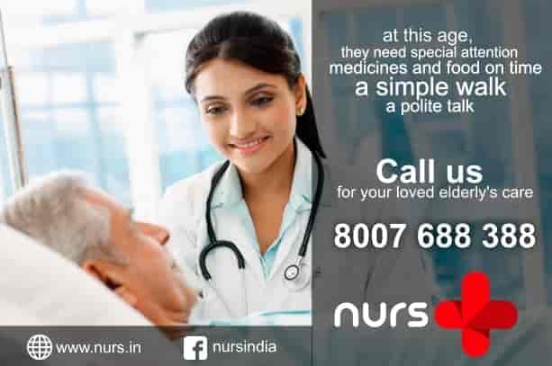 nurs nursing service at home pos, medical square, nagpur ...