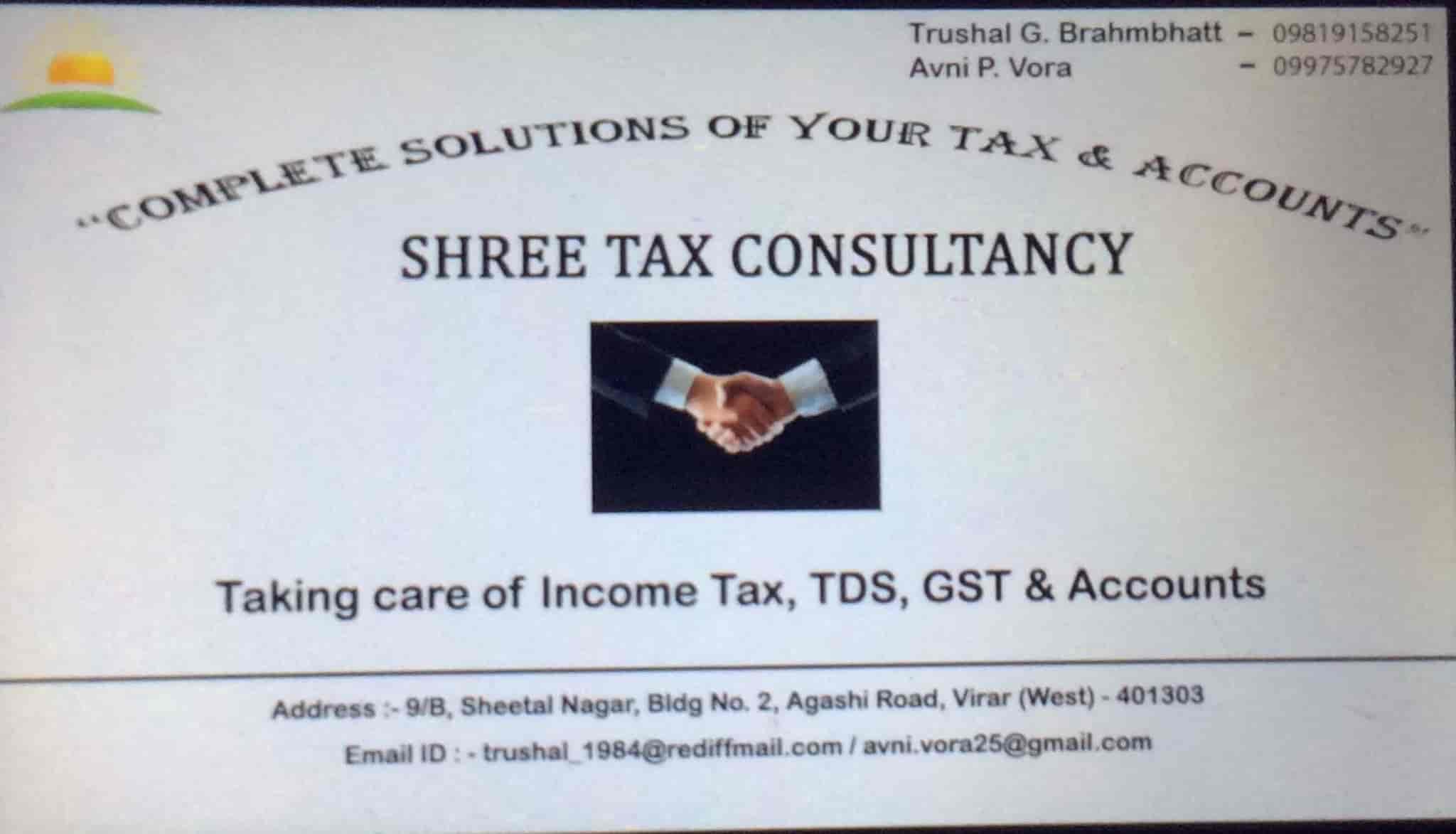 Shree tax consultancy photos virar west mumbai pictures images visiting card shree tax consultancy photos virar west mumbai income tax consultants colourmoves
