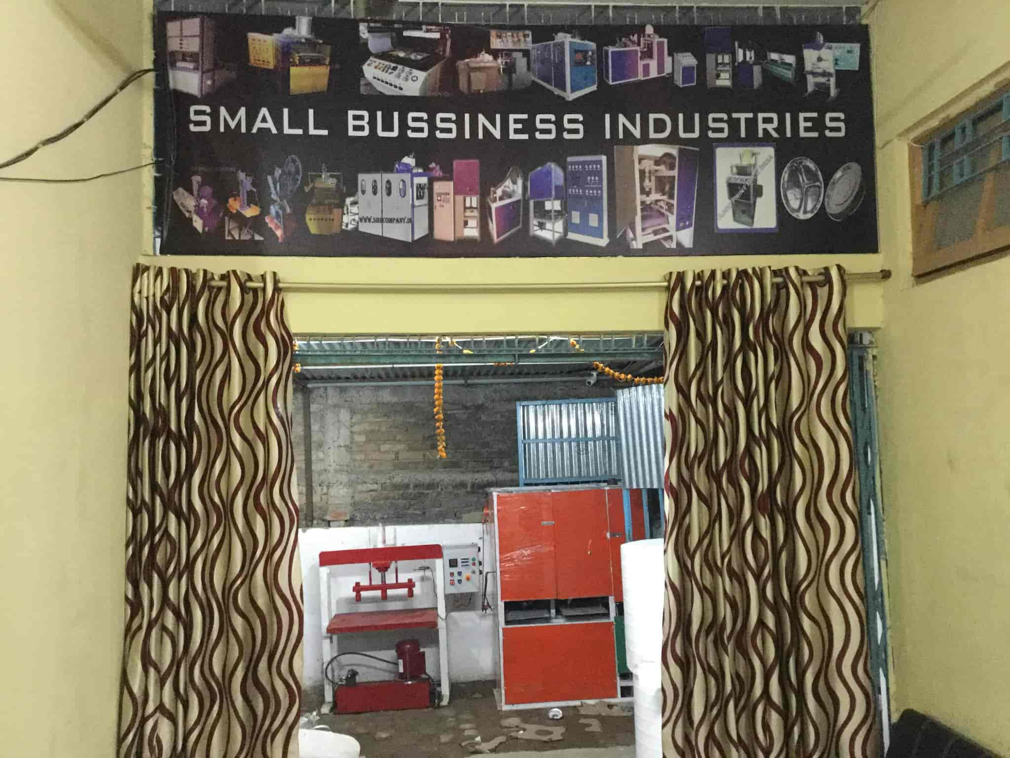Small Business Industries & Small Business Industries Kankarbagh - Paper Plate Making Machine ...