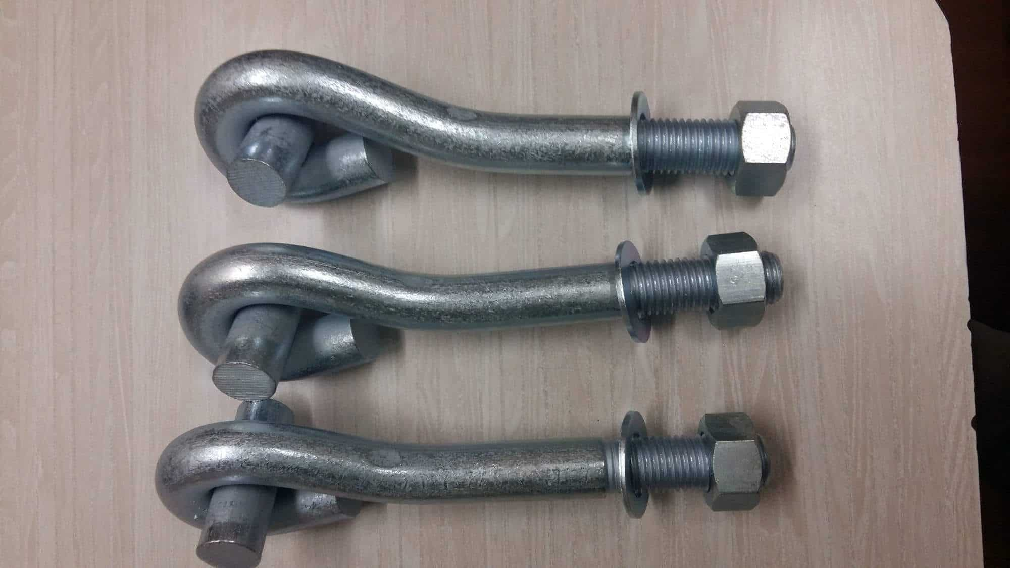 Top J Bolt Manufacturers in Nashik - Best Bent Bolt