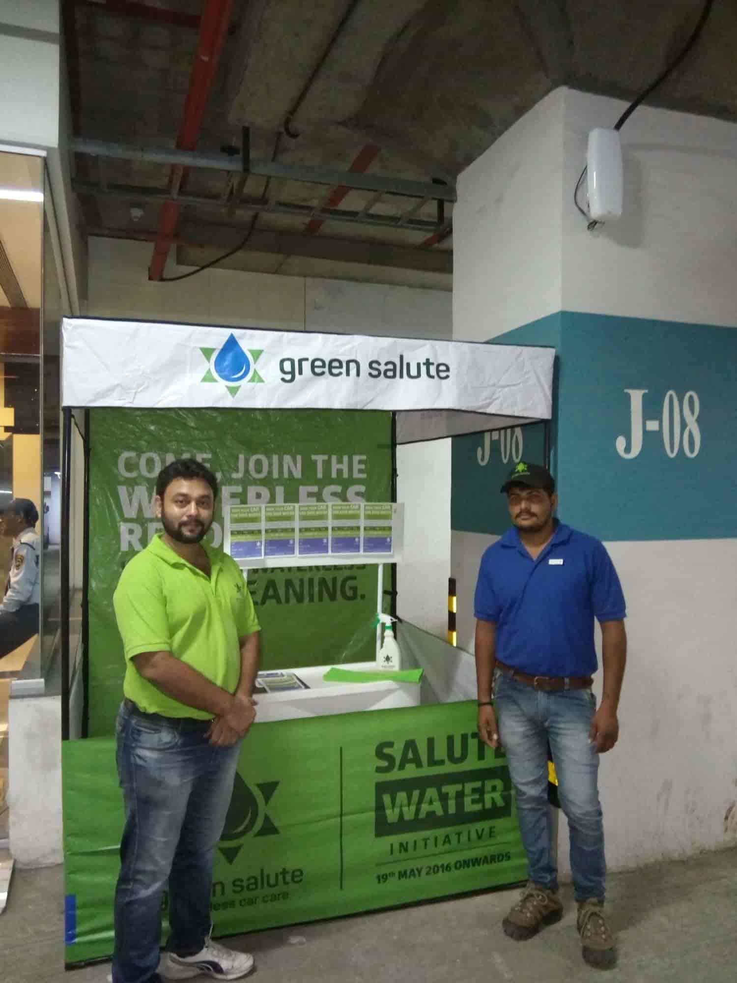 Green Salute Waterless Car Care Door Step Pashan Car Washing