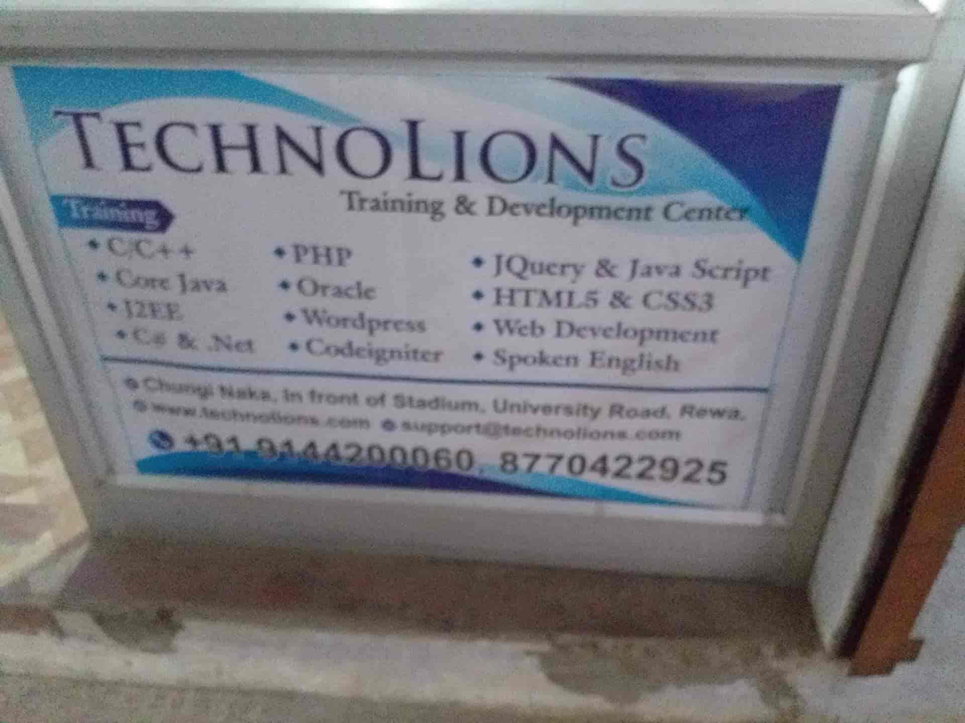 Technolions It Solutions Reviews, Engineering College, Rewa