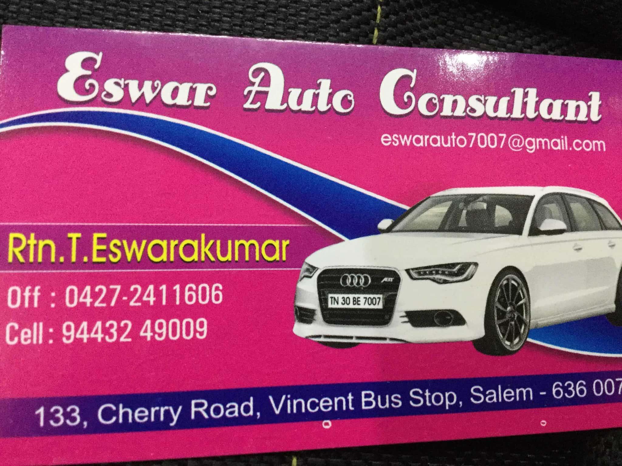 Eswar Auto Consultant, Hastampatti - RTO Consultants in Salem - Justdial