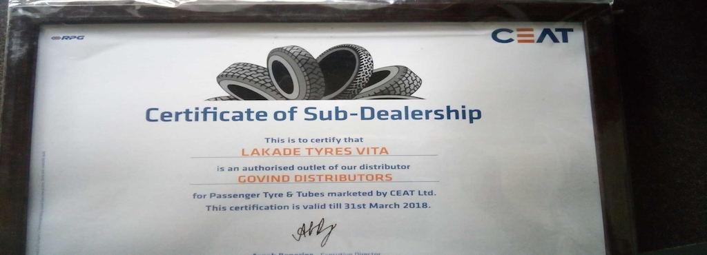 Lakade Tyres And Services Vita City Tyre Dealers Mrf In Sangli