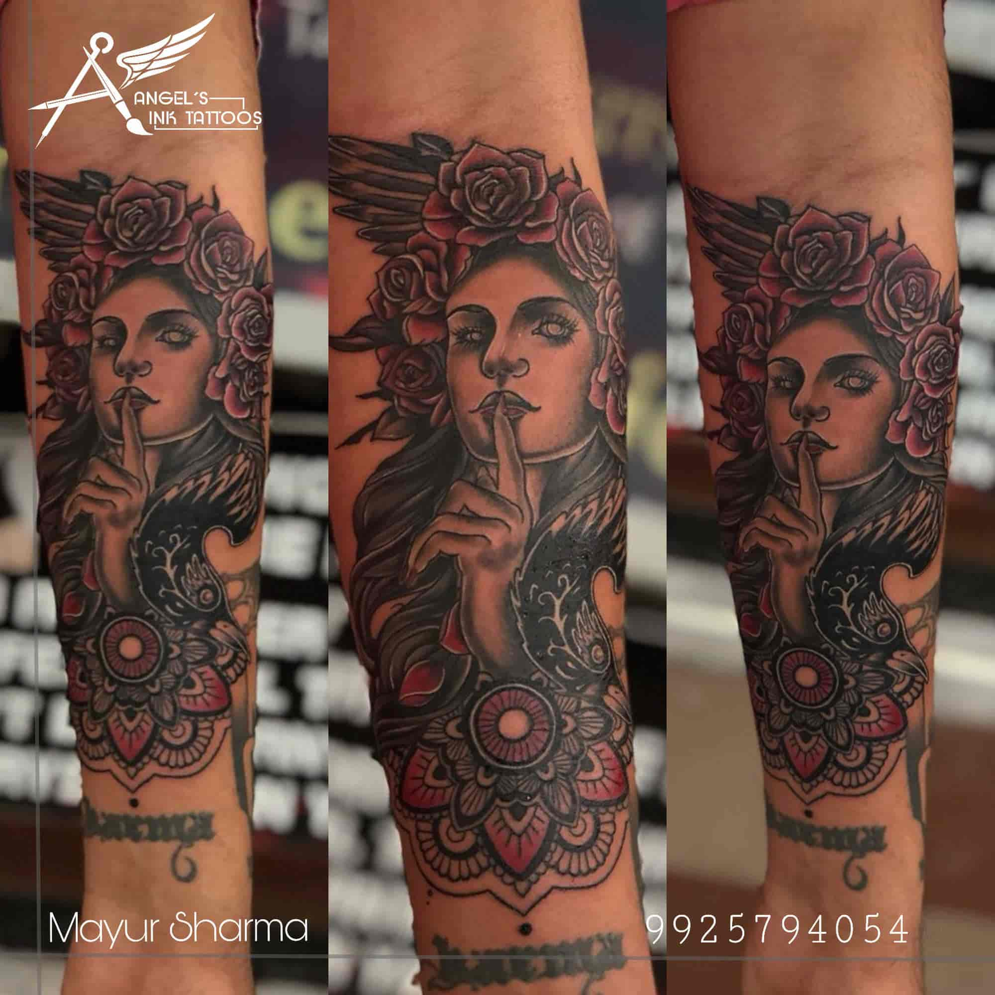 67d281a7f09cb Tattoo Design - Angel's Ink Tattoos & Piercings Photos, Adajan Dn, Surat -  Tattoo ...
