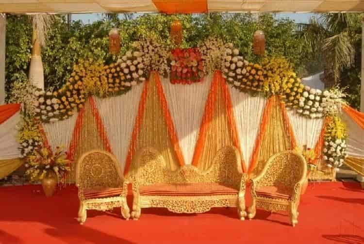 Flower Decoration vishal flower decoration, chowk bazar, surat - flower decorators