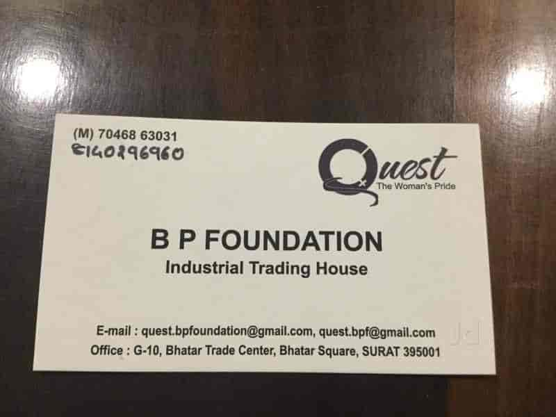 B P Foundation, Althan - Tool Dealers in Surat - Justdial