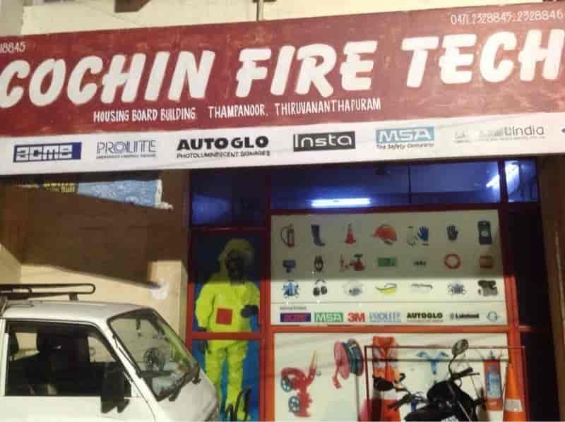 cochin fire tech photos, press road, thiruvananthapuram- pictures
