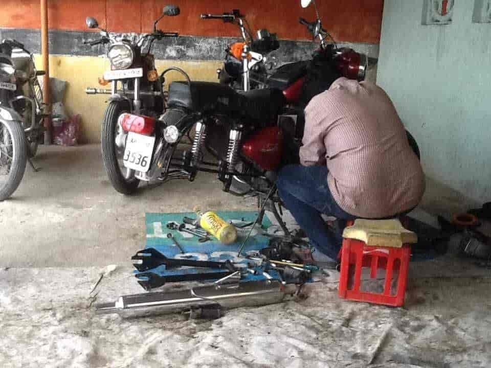Ravi Auto Mech Work Motorcycle Repair Services Royal Enfield
