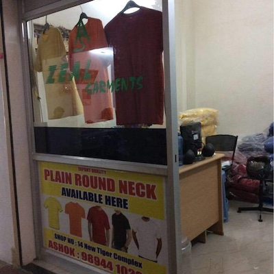 Zeal Garments, Rayapuram Tirupur - T Shirt Manufacturers in