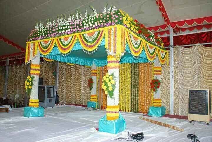 Flower Decoration tg anbu flower decoration, cheyyar, tiruvannamalai - wedding
