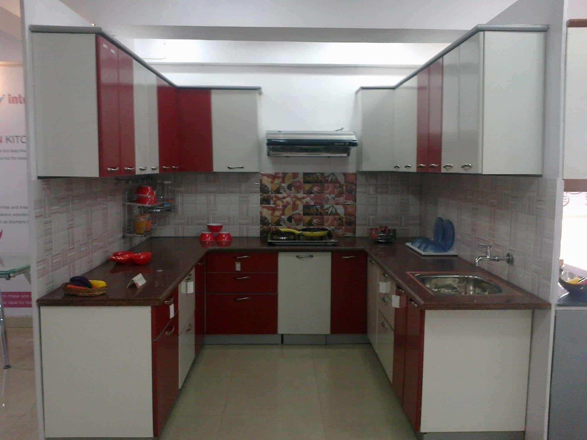 Hermosa Rango De Precios Cocina Modular En Bangalore Ornamento ...