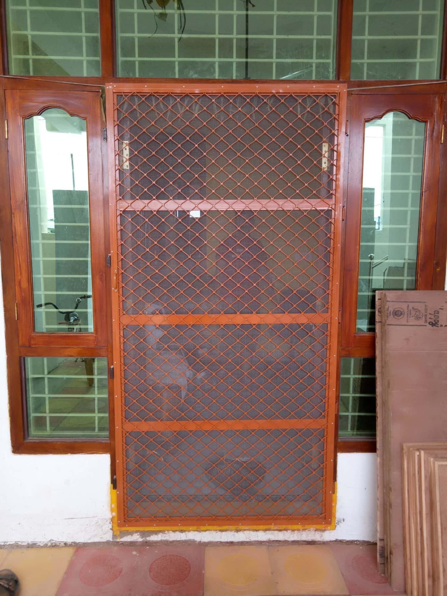 Door Works - Siri Aluminium Mosquito Mesh Doors Photos Hanamkonda Warangal - Aluminium Fabricators ... & Siri Aluminium Mosquito Mesh Doors Photos Hanamkonda Warangal ...