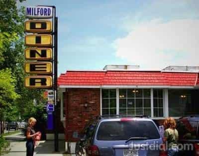 Milford Diner Near W Ann Stbroad St Milford Best Restaurant